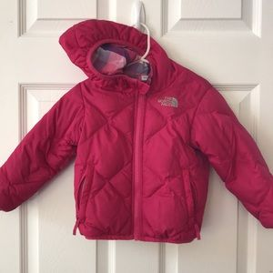 The North Face toddler reversible coat